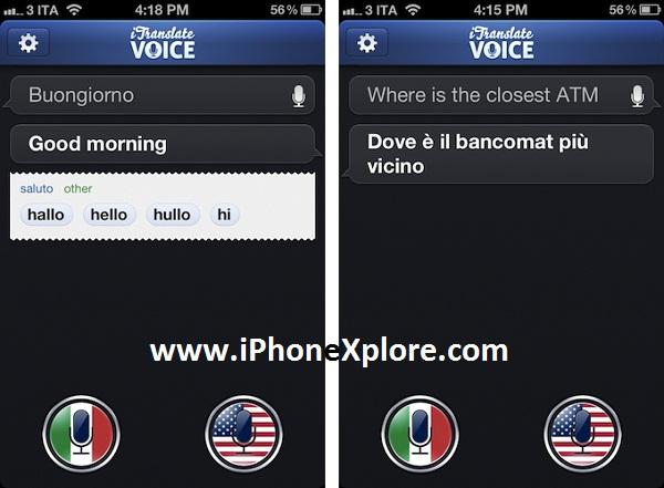 traduttore simultaneo sullo smartphone
