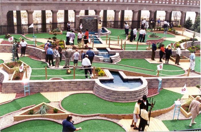 dove giocare a minigolf