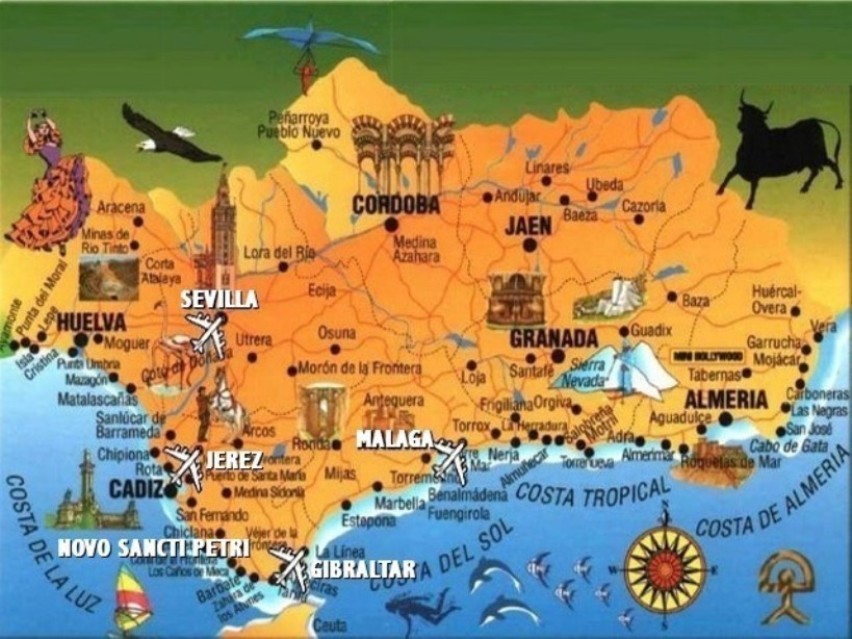 Карта города салоу испания на русском языке