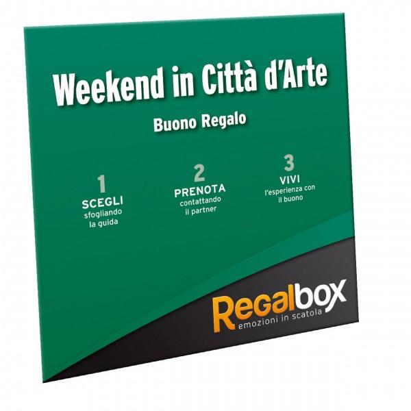 Trascorrere un weekend in una citta\' d\'arte con Regalbox