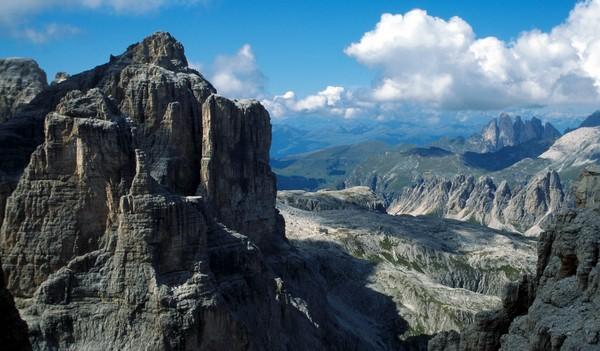 Tutti i luoghi da vedere sulle Dolomiti