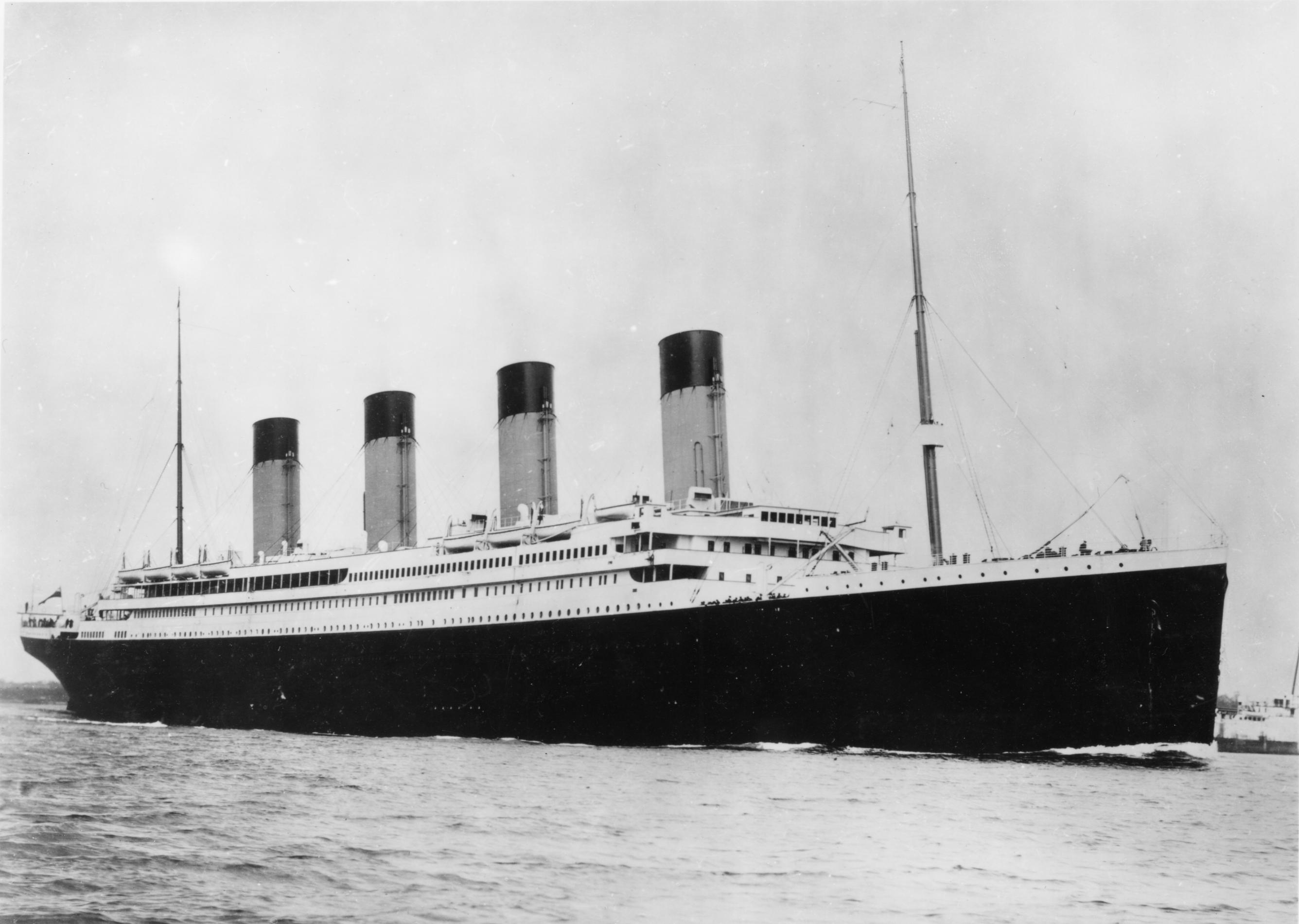 Hai visto? Ecco la copia del Titanic