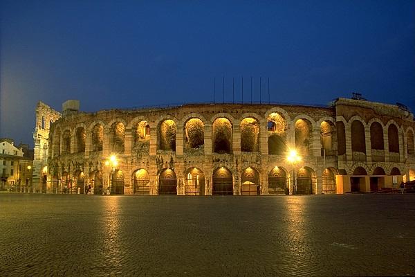 visitare Verona in camper