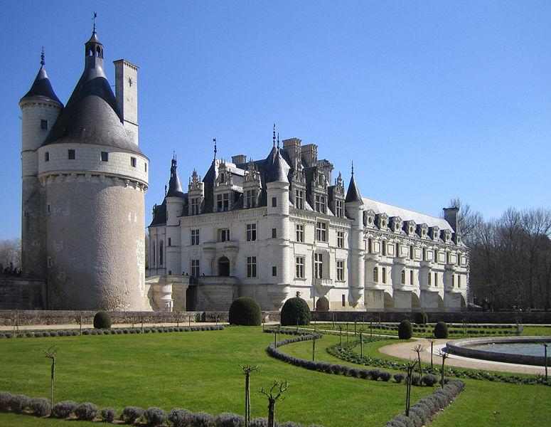 castelli della Loira in bicicletta con bambini