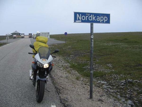 viaggi in moto a Capo Nord