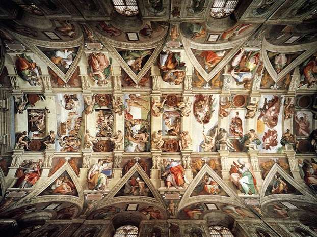 I nostri consigli su come visitare la cappella sistina for Decorazione quattrocentesca della cappella sistina