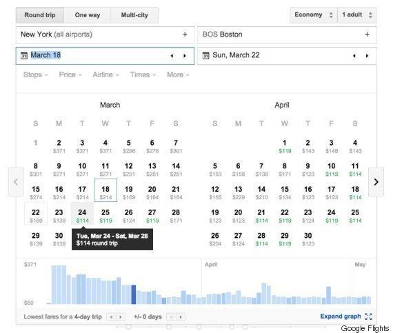 Hai visto? Trucchi Google Flight: come usarlo al meglio per i propri voli