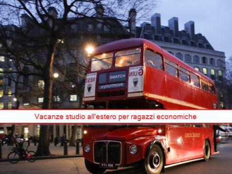 Hai visto? Vacanze studio all'estero per ragazzi economiche