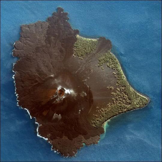 Il vulcano Krakatoa